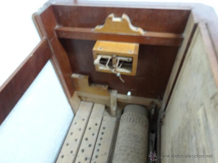 Instrumentos musicales: ÓRGANO DE CILINDRO MARCA FRANCESA SIGLO XIX- 245 - Foto 19 - 45908502