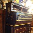Instrumentos musicales: ORGANILLO DE MANUBRIO LUIS CASALI DE 1900 APROX FUNCIONA. Lote 45931429