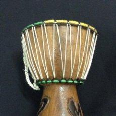 Instrumentos musicales: TAMBOR - BONGO - 20 CM DE ALTO - CAR57. Lote 46003203
