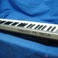 Instrumentos musicales: ÓRGANO ROLAND ED PC - 180 A - CON TRANSFORMADOR ORIGINAL Y CABLE MIDI. Lote 48560900