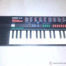 Instrumentos musicales: CASIO TONE BACK SA10. Lote 46515365