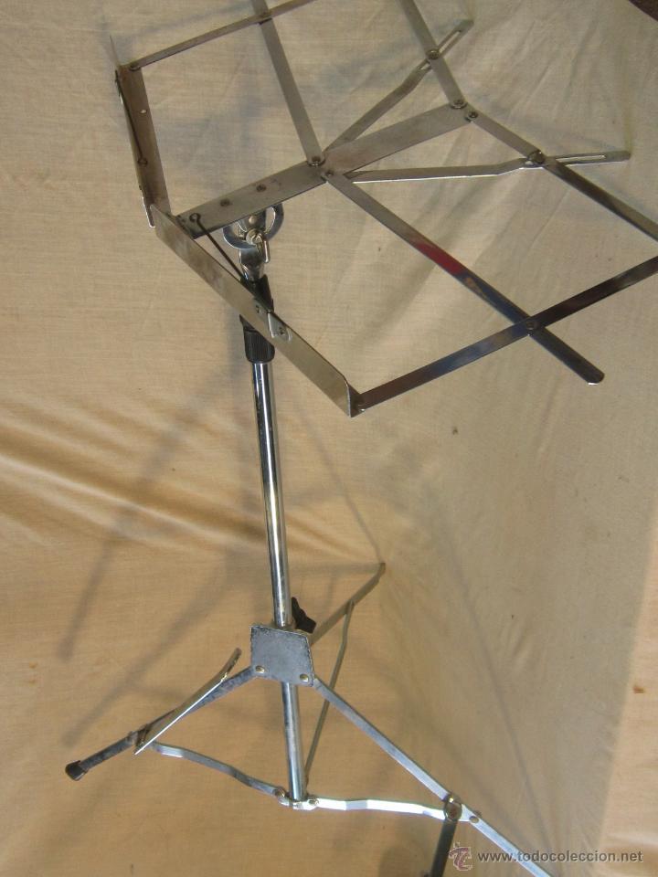 Instrumentos musicales: ATRIL PLEGABLE PARA PARTITURAS - Foto 7 - 46723013