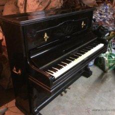 Instrumentos musicales: CLÁSICO PIANO DE PARED PRIUD MALLARD Y CIA BARCELONA 1902. Lote 46778289