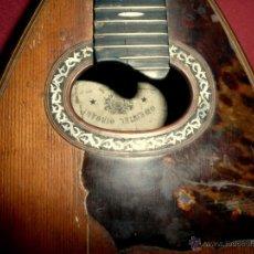 Instrumentos musicales: MANDOLINA ANTIGUA. Lote 46948455