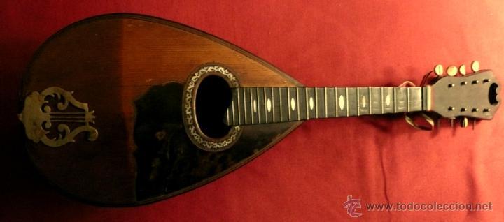 Instrumentos musicales: MANDOLINA ANTIGUA - Foto 5 - 46948455