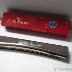 Instrumentos musicales: ANTIGUA ARMONICA * THE MUSIC MASTER G * FABRICADA EN ALEMANIA - AÑO 1950S.. Lote 47000075