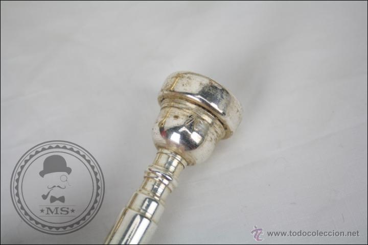 Instrumentos musicales: Trompeta Amati Kraslice - Fabricada en Checoslovaquia - Con Funda y Boquilla - 57 x 16 x 25 Cm Caja - Foto 11 - 47166219
