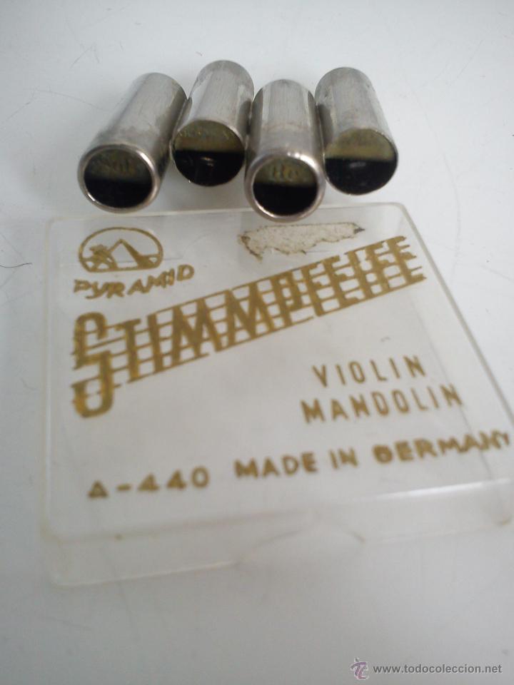 Instrumentos musicales: afinador de VIOLINes y MANDOLINas. MADE IN GERMANY - Foto 2 - 47367570