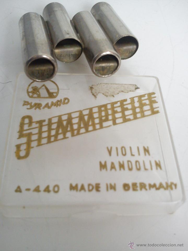 Instrumentos musicales: afinador de VIOLINes y MANDOLINas. MADE IN GERMANY - Foto 3 - 47367570
