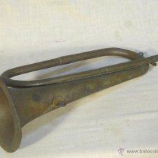 Instrumentos musicales: CORNETA ANTIGUA DE LATON. Lote 47378803