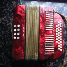 Instrumentos musicales: ACORDEÓN (HOHNER CLUB II B). Lote 47406228