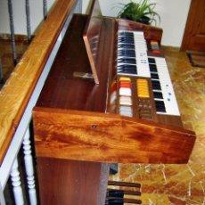 Instrumentos musicales: ORGANO TECLADO FARFISA CAPITOL 2 PISOS, TECLAS DE PIE Y DE VOLUMEN.. Lote 47498856