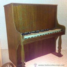 Instrumentos musicales: ANTIGUO PIANO DE MADERA DE JUGUETE ,ODEON IMPORTANTE MARCA MUSICAL.. Lote 47511373