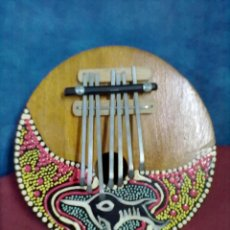 Instrumentos musicales: IDIOFONO AFRICANO KALIMBA PIANO DE PULGAR. Lote 47534879