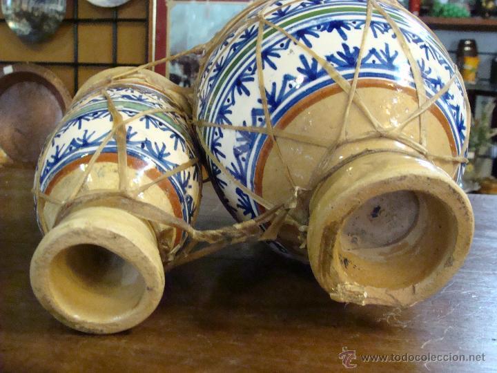 Instrumentos musicales: BONGOS O TAMBORES DOBLES AFRICANOS EN CERÁMICA MUY DECORATIVOS - Foto 8 - 47644037