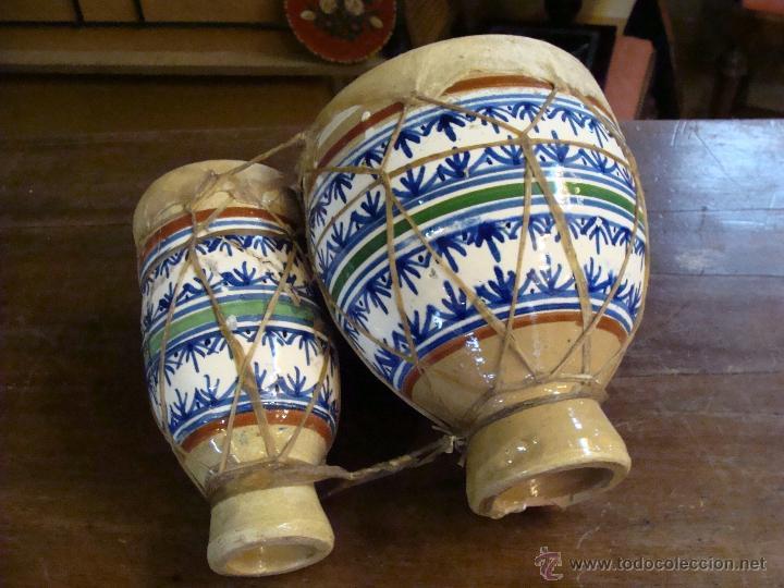Instrumentos musicales: BONGOS O TAMBORES DOBLES AFRICANOS EN CERÁMICA MUY DECORATIVOS - Foto 9 - 47644037