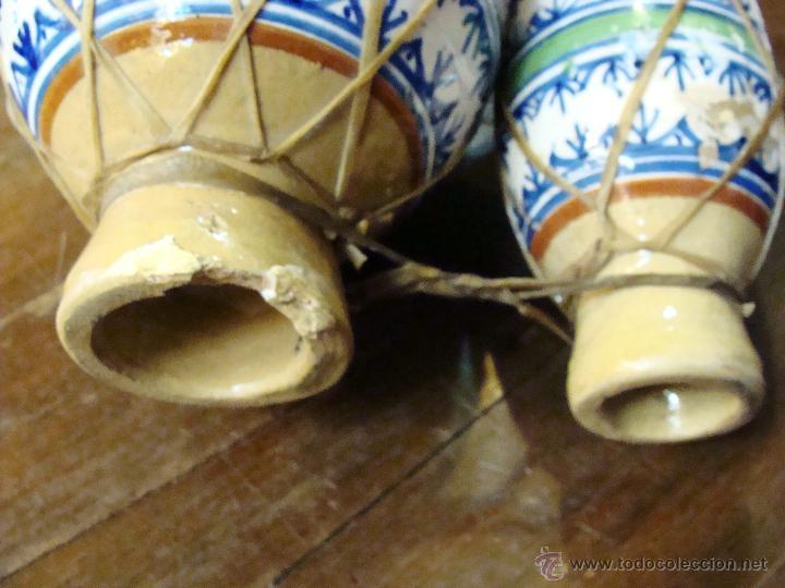 Instrumentos musicales: BONGOS O TAMBORES DOBLES AFRICANOS EN CERÁMICA MUY DECORATIVOS - Foto 12 - 47644037