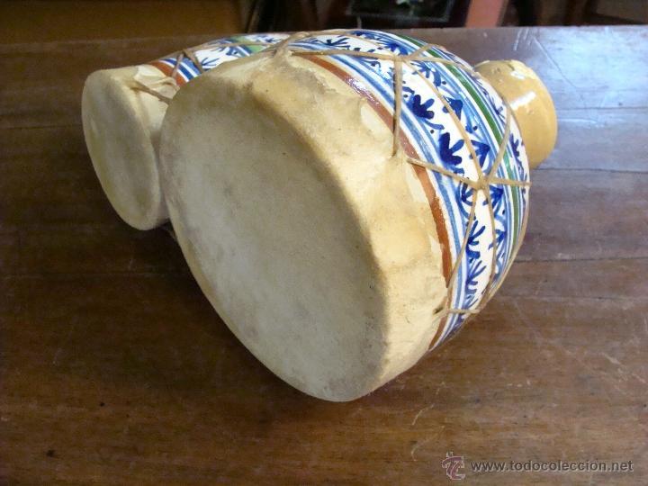 Instrumentos musicales: BONGOS O TAMBORES DOBLES AFRICANOS EN CERÁMICA MUY DECORATIVOS - Foto 21 - 47644037