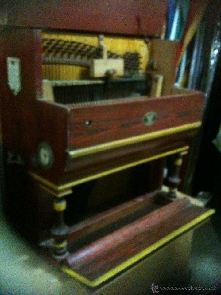 Instrumentos musicales: pianola para restaurar - Foto 2 - 47741412