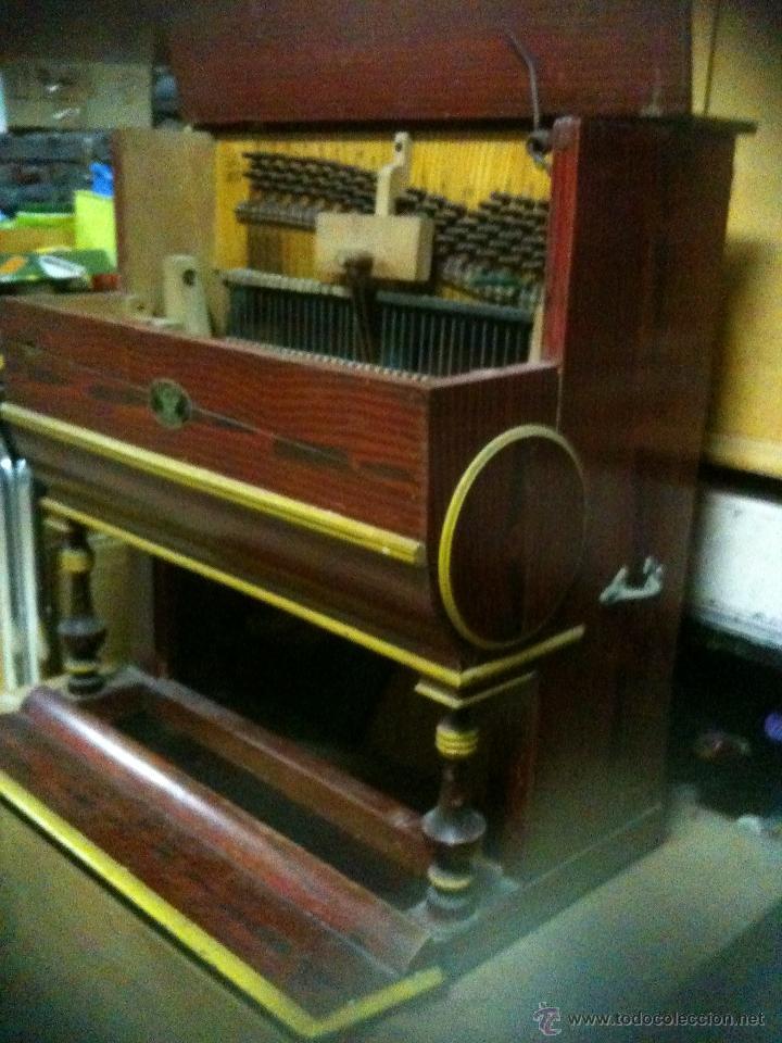Instrumentos musicales: pianola para restaurar - Foto 3 - 47741412