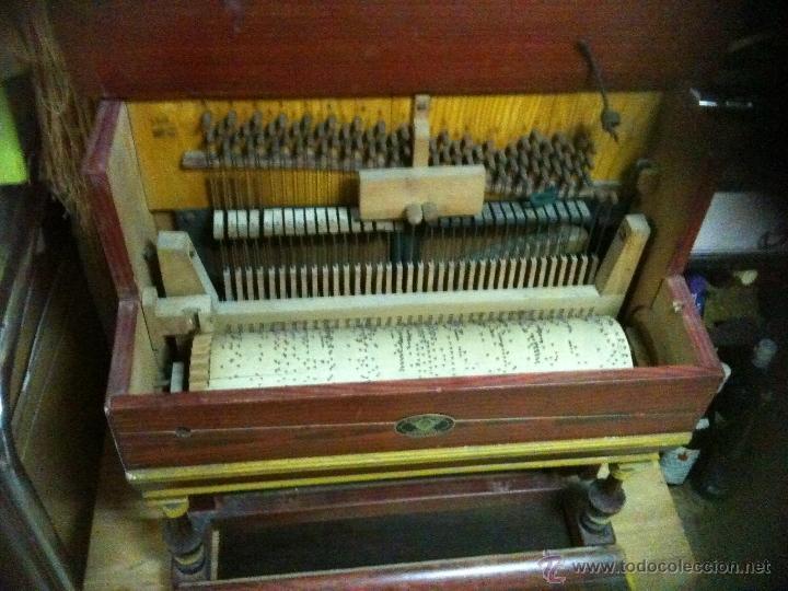 Instrumentos musicales: pianola para restaurar - Foto 4 - 47741412
