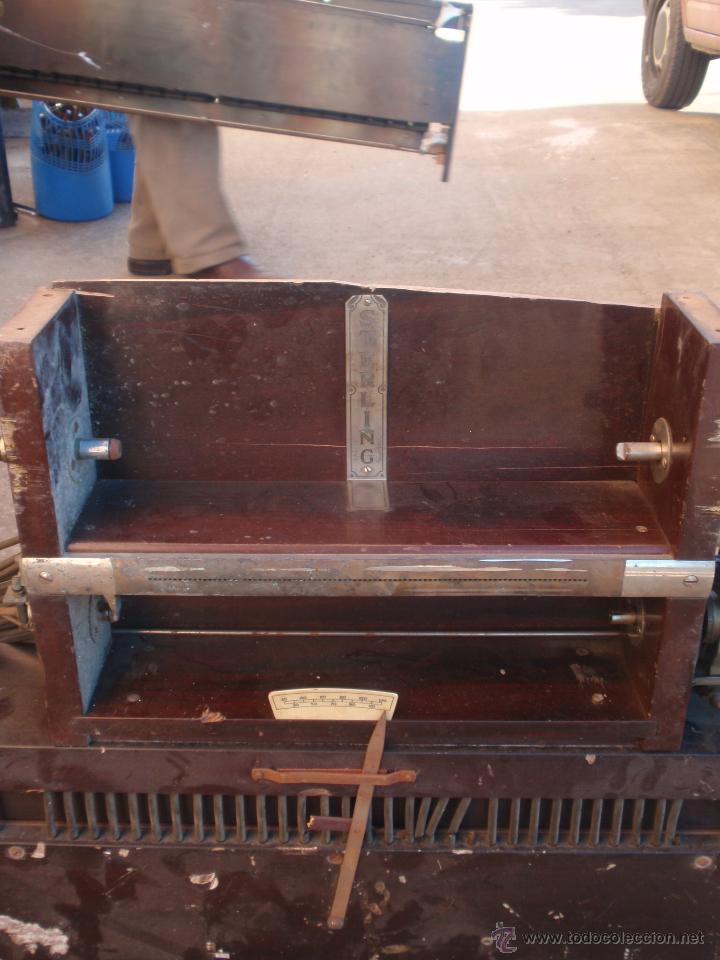 Instrumentos musicales: Pianola antigua maquinaria interior. Marca Sterling - Foto 3 - 47845673