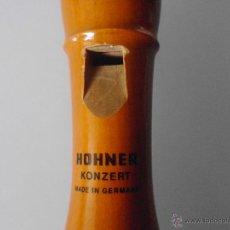 Instrumentos musicales: FLAUTA HOHNER C. SOPRAN -KONZERT- MADE IN GERMANY-. Lote 48001860