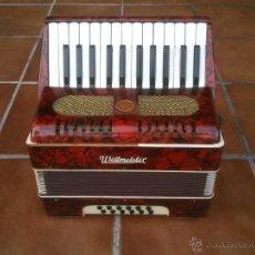 Instrumentos musicales: ORIGINAL ACORDEÓN WELTMEISTER. POST LABOREM MUSICA. Lote 48019779