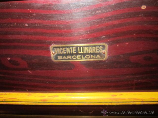 Instrumentos musicales: Antiguo organillo Vicente Llinares - Barcelona, con dos rodillos. Funcionando.Clavijero nuevo. - Foto 3 - 48143521