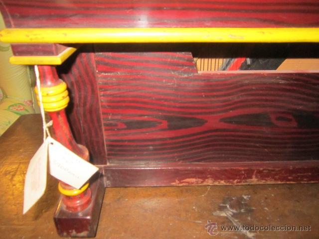 Instrumentos musicales: Antiguo organillo Vicente Llinares - Barcelona, con dos rodillos. Funcionando.Clavijero nuevo. - Foto 9 - 48143521
