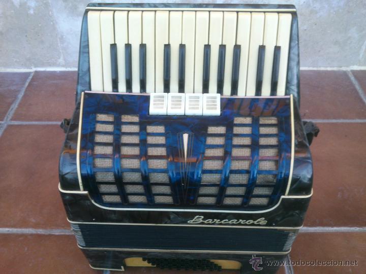 ORIGINAL ACORDEÓN.BARCAROLE (Música - Instrumentos Musicales - Viento Madera)
