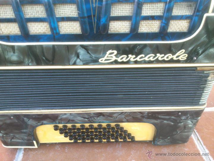 Instrumentos musicales: ORIGINAL ACORDEÓN.BARCAROLE - Foto 4 - 48166318