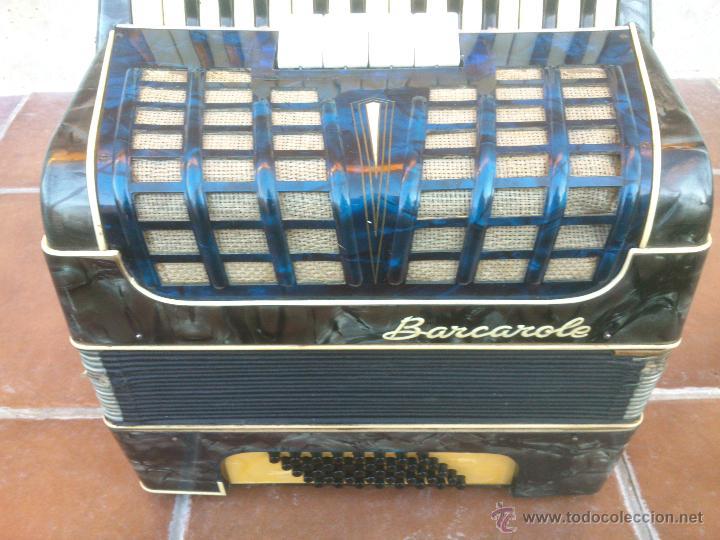 Instrumentos musicales: ORIGINAL ACORDEÓN.BARCAROLE - Foto 5 - 48166318