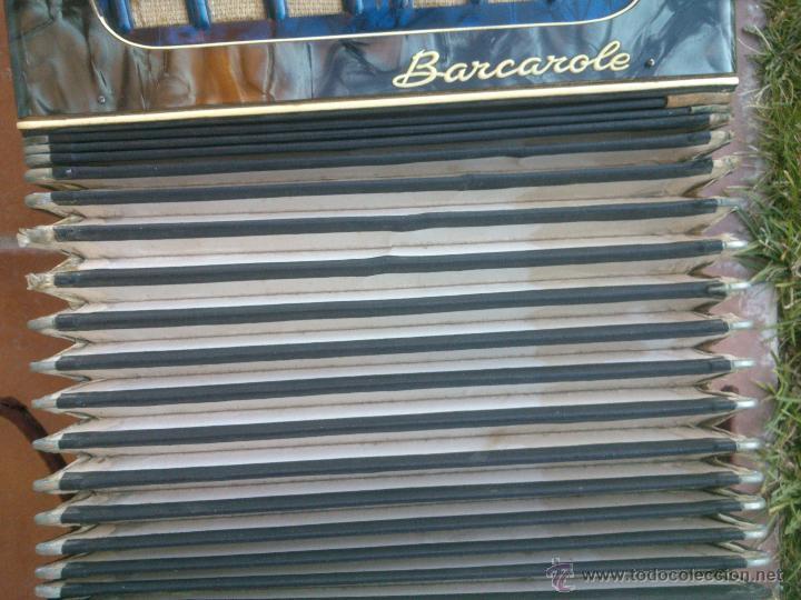 Instrumentos musicales: ORIGINAL ACORDEÓN.BARCAROLE - Foto 14 - 48166318
