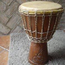 Instrumentos musicales: BONGO AFRICANO- MEDIDAS 52 DE ALTO POR 32 DE DIAMETRO- 7KG DE PESO. Lote 48431909