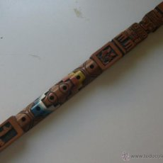 Instrumentos musicales: FLAUTA MADERA 60 CENTIMETROS TIPICA BOLIVIANA INCA. Lote 48667868