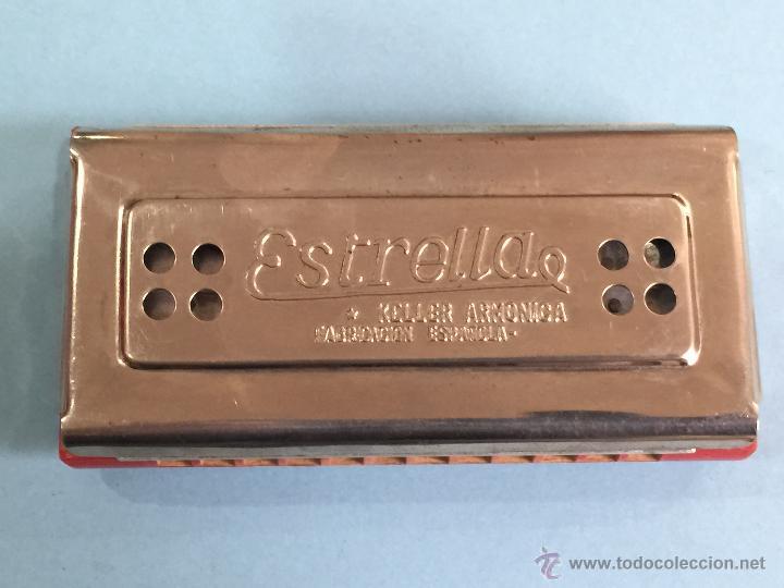 ARMONICA KELLER - FABRICACION ESPAÑOLA - 2 CARAS - PERFECTA - FUNCIONANDO PERFECTAMENTE (Música - Instrumentos Musicales - Viento Madera)