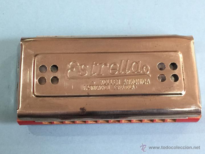 Instrumentos musicales: Armonica Keller - Fabricacion española - 2 caras - Perfecta - Funcionando perfectamente - Foto 2 - 49013115