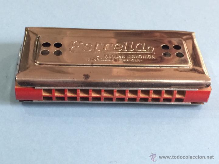 Instrumentos musicales: Armonica Keller - Fabricacion española - 2 caras - Perfecta - Funcionando perfectamente - Foto 3 - 49013115