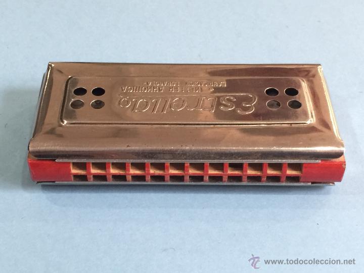 Instrumentos musicales: Armonica Keller - Fabricacion española - 2 caras - Perfecta - Funcionando perfectamente - Foto 4 - 49013115