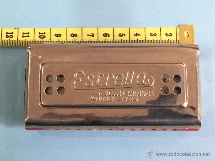 Instrumentos musicales: Armonica Keller - Fabricacion española - 2 caras - Perfecta - Funcionando perfectamente - Foto 7 - 49013115