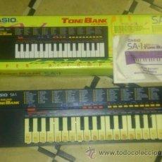 Instrumentos musicales: CASIO SA-1 TONE BANK. Lote 49250224