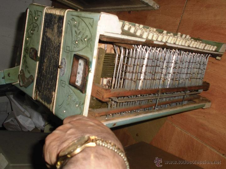 Instrumentos musicales: SELL FILARMONICA ACORDEON ANTIGUA PAOLO SOPRANI E FIGLI CASTELFIDARDO ITALIA CON PIEDRAS PEGADAS - Foto 8 - 191168920