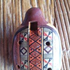 Instrumentos musicales: OCARINA CHILENA EN TERRACOTA. Lote 49381642
