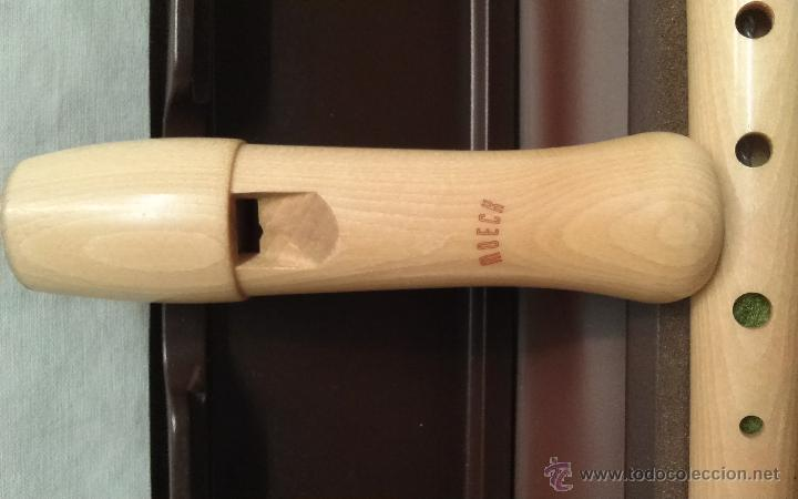 Instrumentos musicales: FLAUTA MOECH EN SU ESTUCHE ORIGINAL Y CON TODOS SUS COMPLEMENTOS - Foto 3 - 49562908
