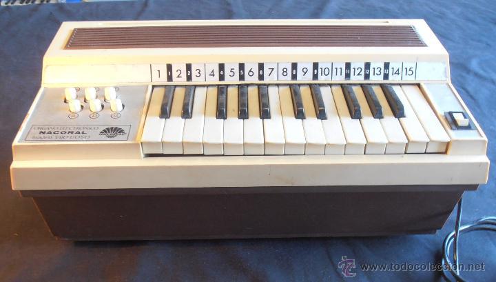 ORGANO ELECTRONICO NACORAL (Música - Instrumentos Musicales - Teclados Eléctricos y Digitales)