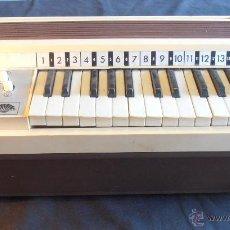 Instrumentos musicales: ORGANO ELECTRONICO NACORAL. Lote 49899724