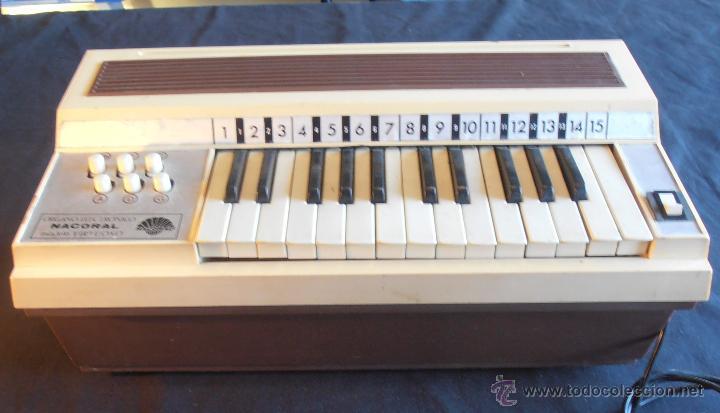 Instrumentos musicales: ORGANO ELECTRONICO NACORAL - Foto 2 - 49899724