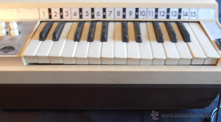 Instrumentos musicales: ORGANO ELECTRONICO NACORAL - Foto 5 - 49899724