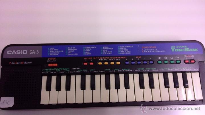 ORGANO CASIO SA 3 (Música - Instrumentos Musicales - Pianos Antiguos)